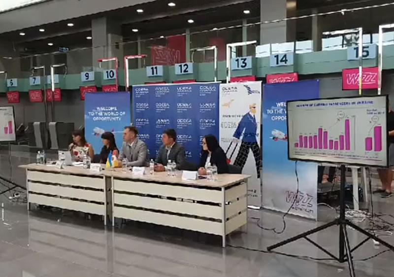 Wizz Air объявила новые направления из Одессы и Львова