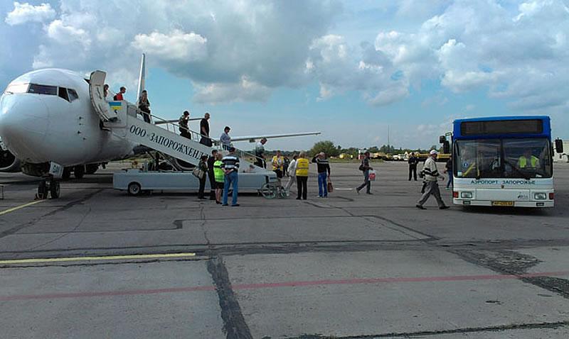 Аэропорт Запорожья заключил договор на ремонт полосы
