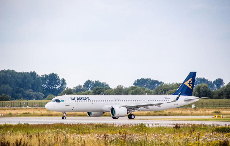 «Эйр Астана» первой в СНГ получила Airbus A321LR