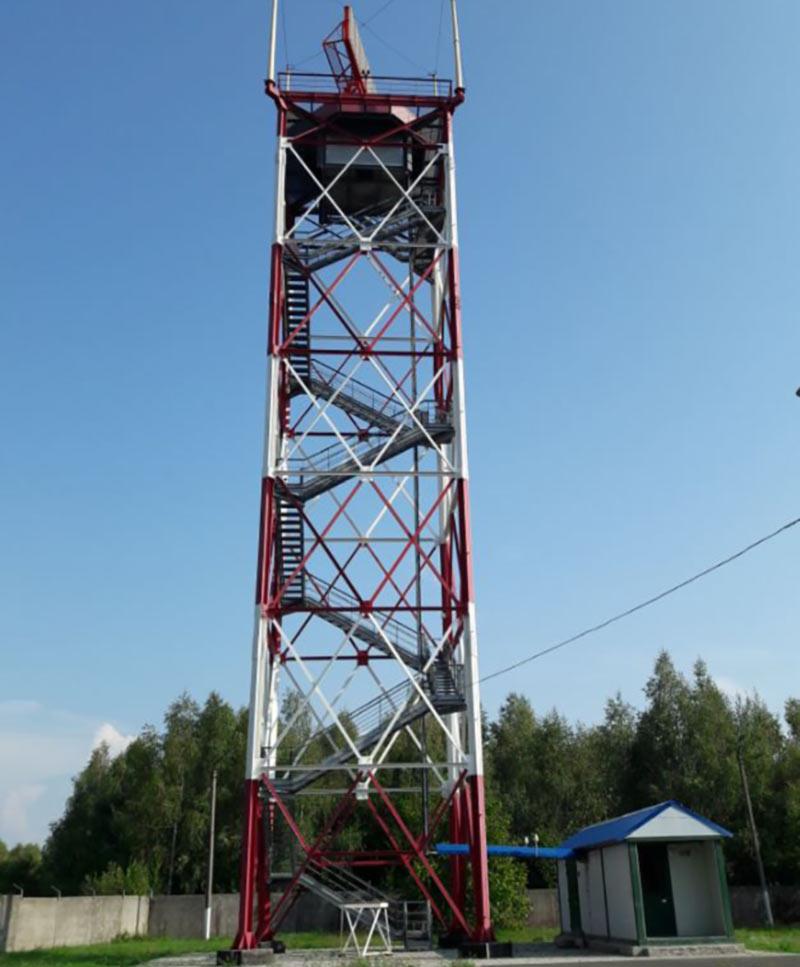 В Дубно установлен современный радиолокатор