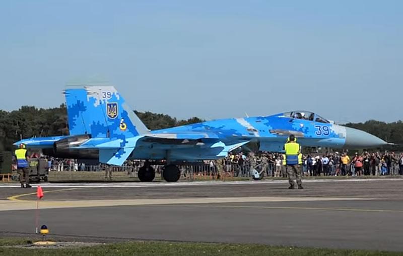 Су-27 на International Sanicole Airshow — 2019