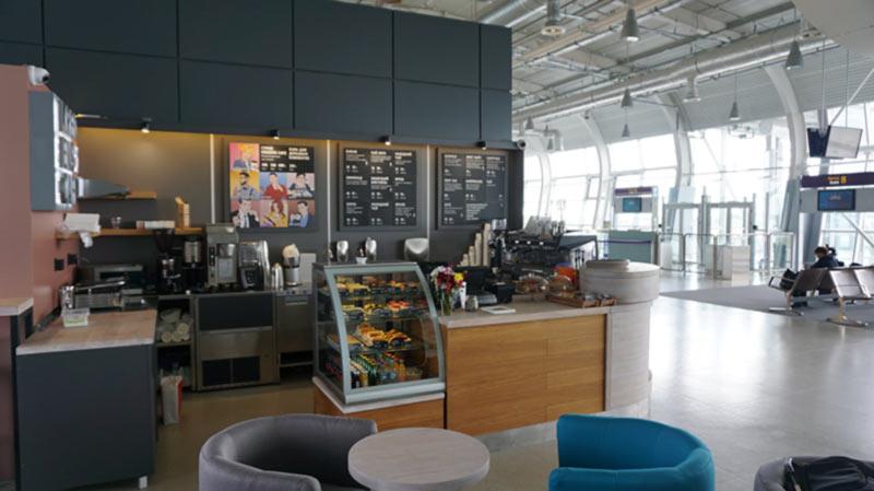 Kredens Cafe начинает работу в терминале аэропорта «Львов»