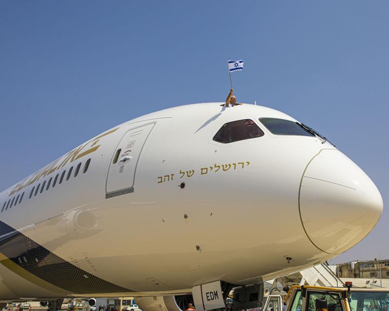 Авиапарк «Эль-Аль» пополняется 12-м самолетом Boeing Dreamliner «Золотой Иерусалим»
