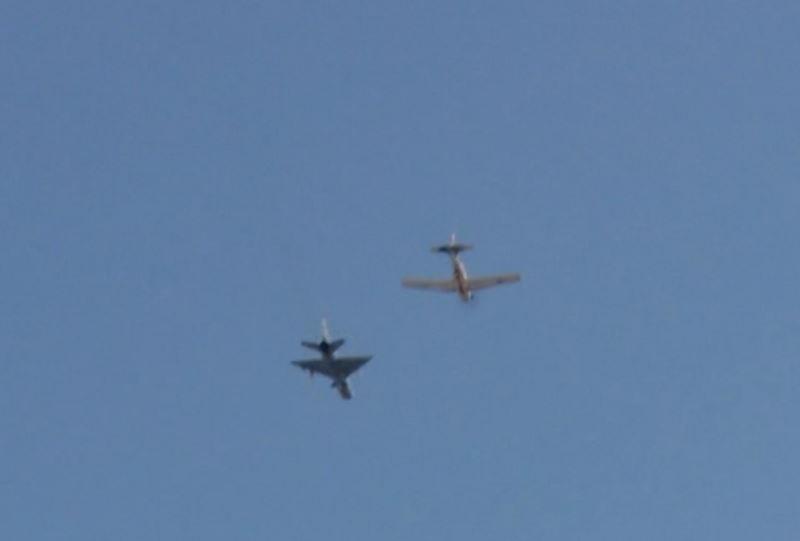 Хорватский истребитель перехватил украинский самолет