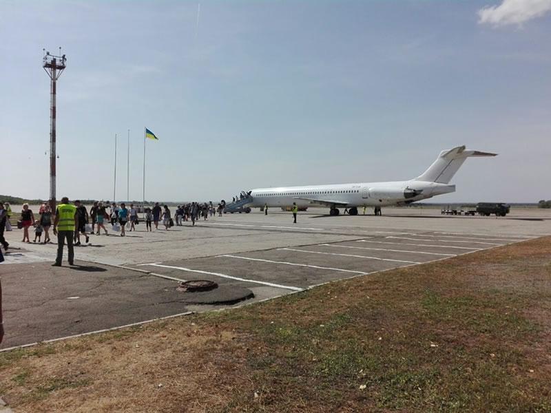 Первый рейс вылетел из Кривого Рога в Тиват