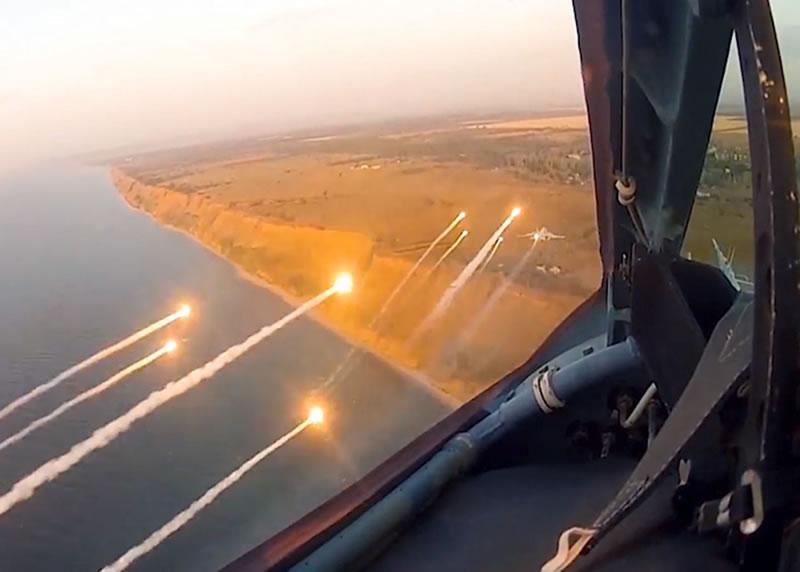 Воздушные Силы активно участвуют в учениях «Казацкая воля - 2019»