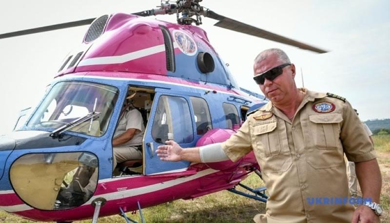 Авиакомпания «Мотор Сич» продолжит вертолетные экскурсии