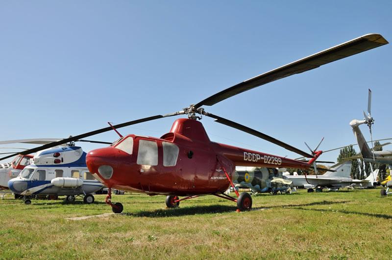 В Государственном музее авиации реставрировали Ми-1