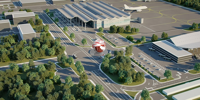 В одесском аэропорту установят сферу