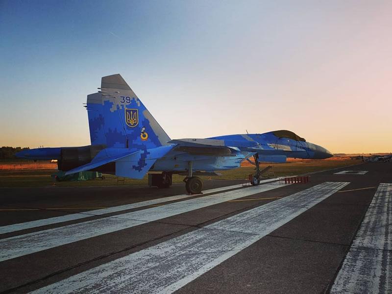 Украинские самолеты участвуют в авиашоу в Бельгии