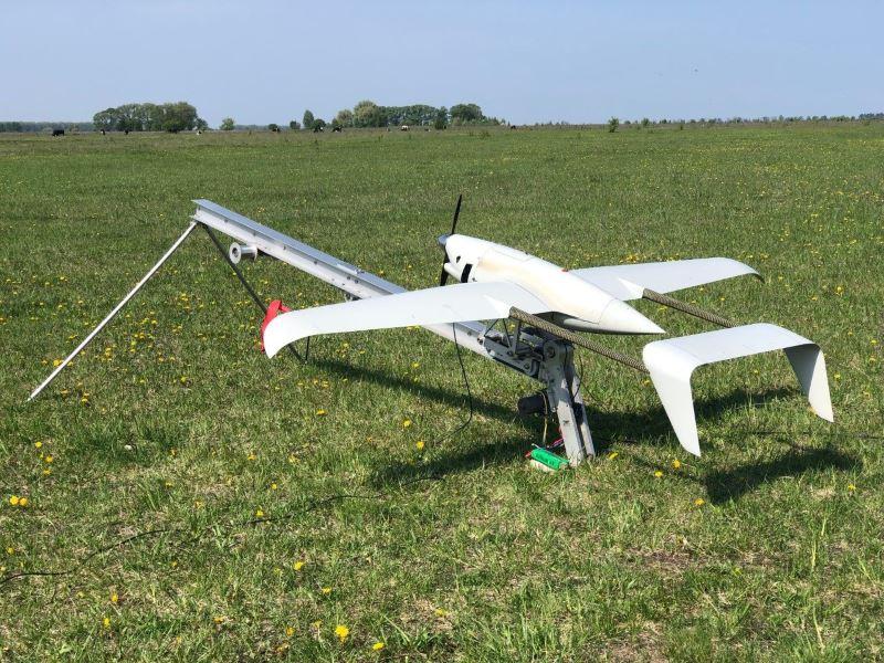 Установление рекорда по продолжительности полета БпЛК «Raybird-3»
