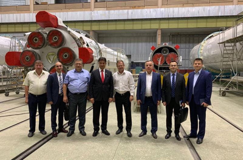 Южмаш посетил посол Турции в Украине