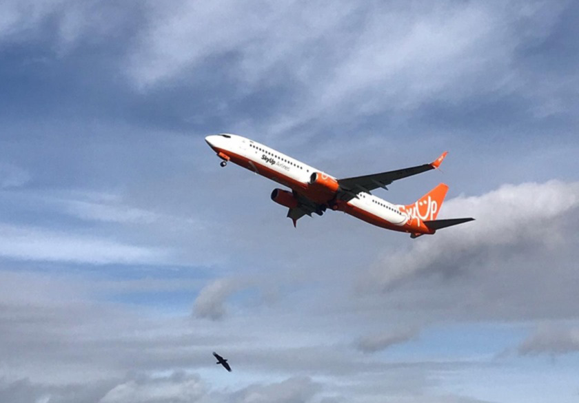 Авиакомпания SkyUp получила 9 самолет