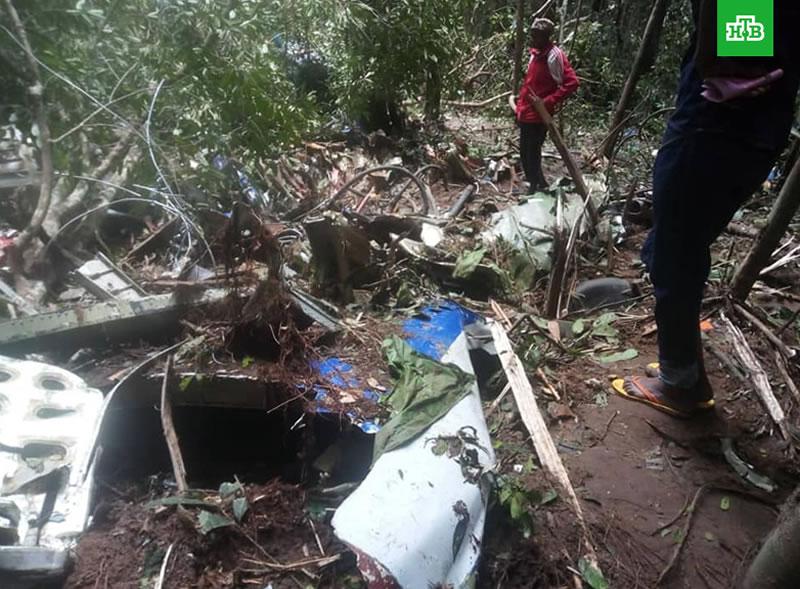 В катастрофе Ан-72 в Конго погиб украинец