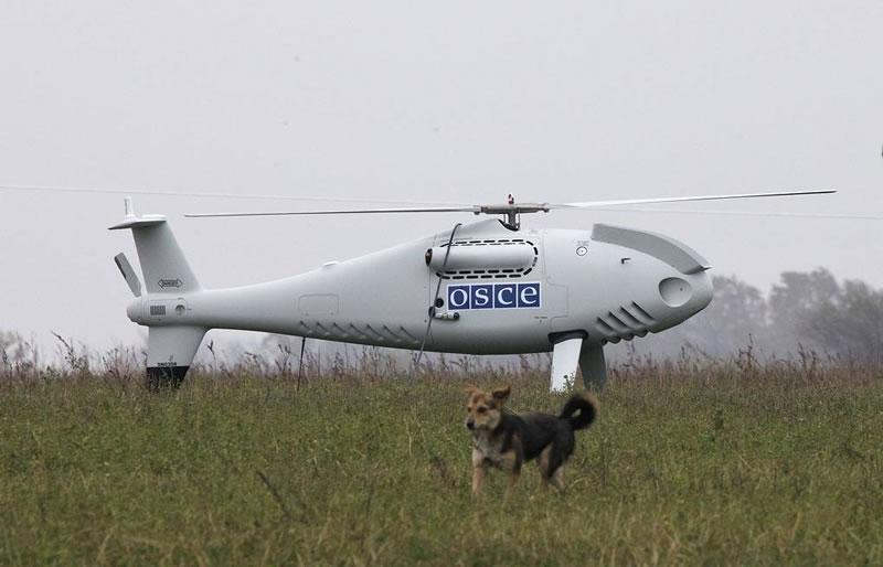 На Донбассе ДРГ боевиков обстреляла беспилотник ОБСЕ