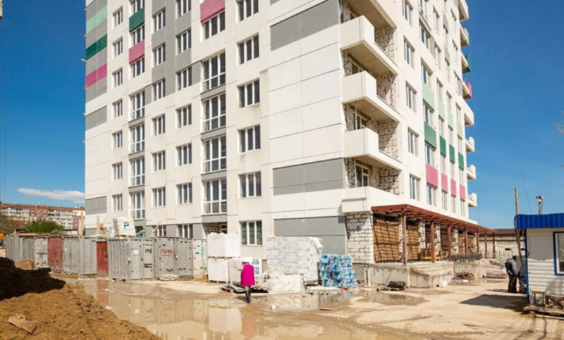 Дом на Таирова в Одессе мешает самолетам