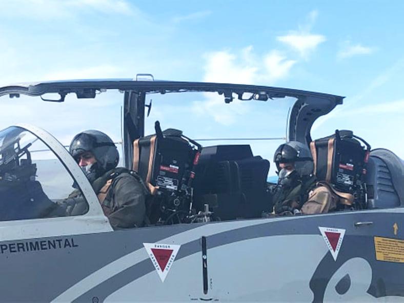 Украинские военные летчики изучают возможности иностранной техники