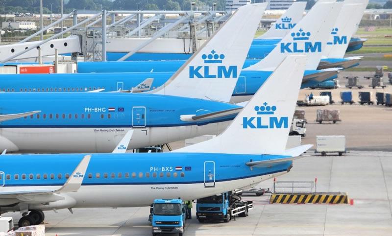 KLM собирается сохранить полеты из Амстердама в Киев