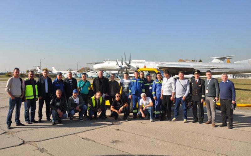В конкурсе водителей АНТ победили работники аэропорта «Киев»