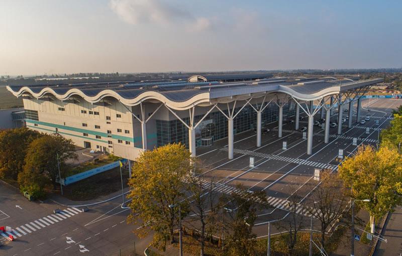 Аэропорт Одесса запустил новый сайт