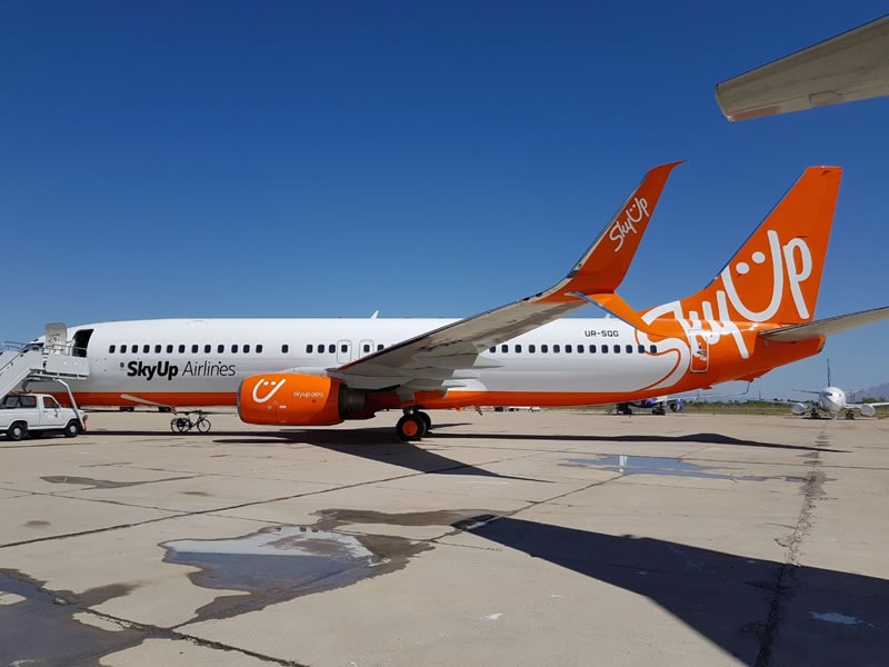 SkyUp выполнила первый полет по маршруту Киев-Львов