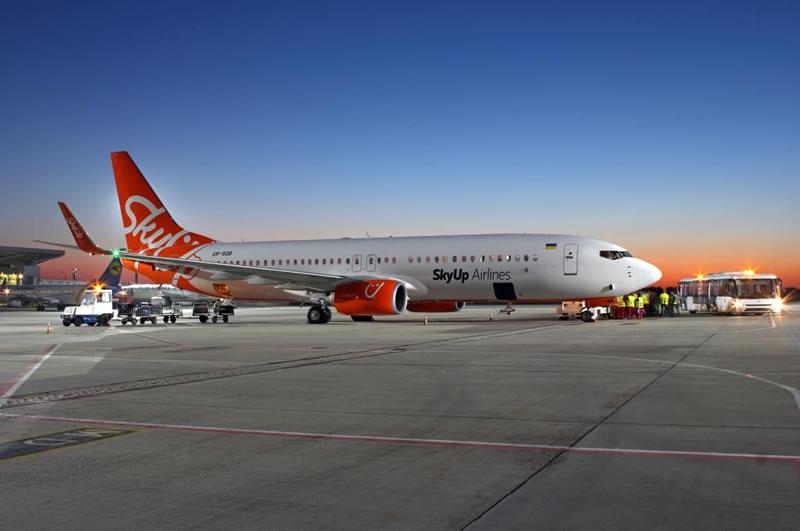 SkyUp начинает летать из Харькова в Тбилиси