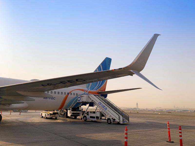 flydubai оснастит свои самолеты Boeing 737-800 нового поколения сопряженными законцовками крыла