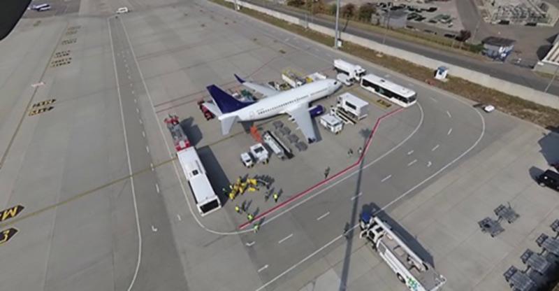 Tetris challenge от аэропорта «Киев»
