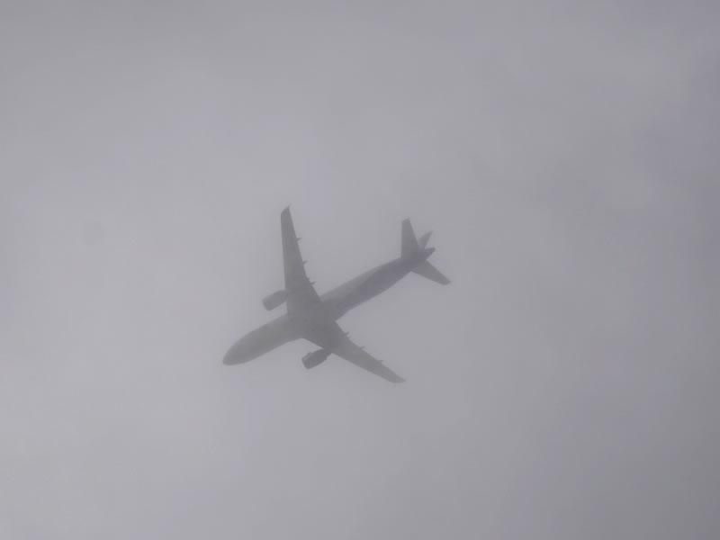 Аэропорты Киева задерживают рейсы из-за сильного тумана