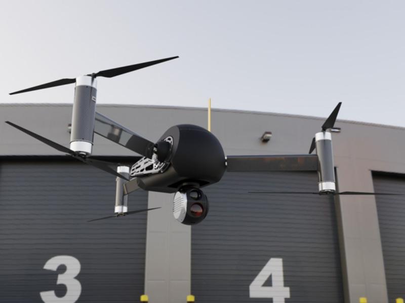 В Киеве представят беспилотный мультикоптер Windhover