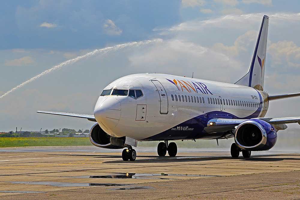 YanAir на Новый Год выполнит 12 дополнительных рейсов в Грузию