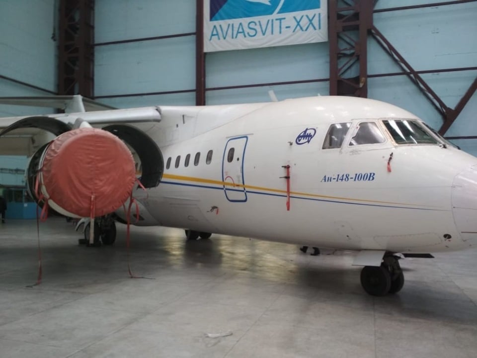 Продается Ан-148-100В UR-NTA