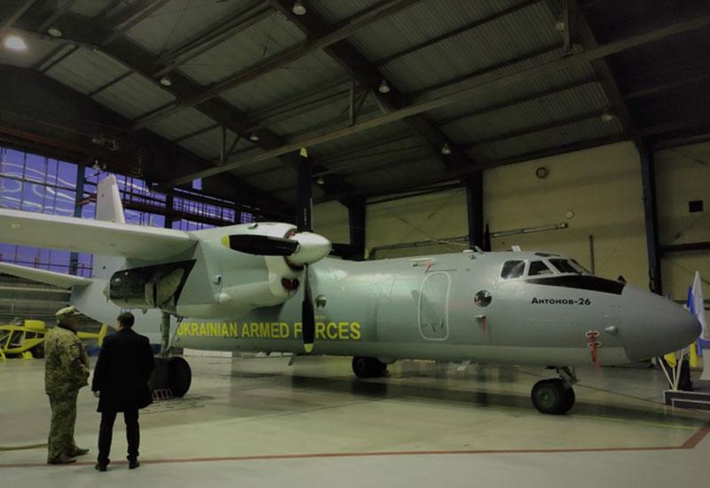 Бригада транспортной авиации получила отремонтированный Ан-26