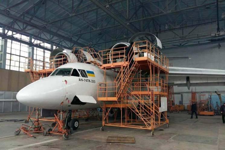 Харьковский авиазавод должен решить вопрос по Ан-74 с Казахстаном