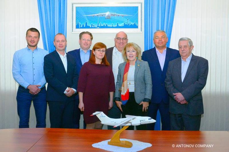 В ГП «Антонов» обсудили взаимодействие по Ан-1х8 с представителями Boeing