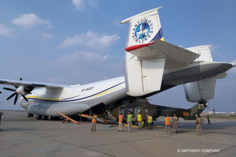 Первый рейс «Антея» после ТО выполнен для Минобороны Испании