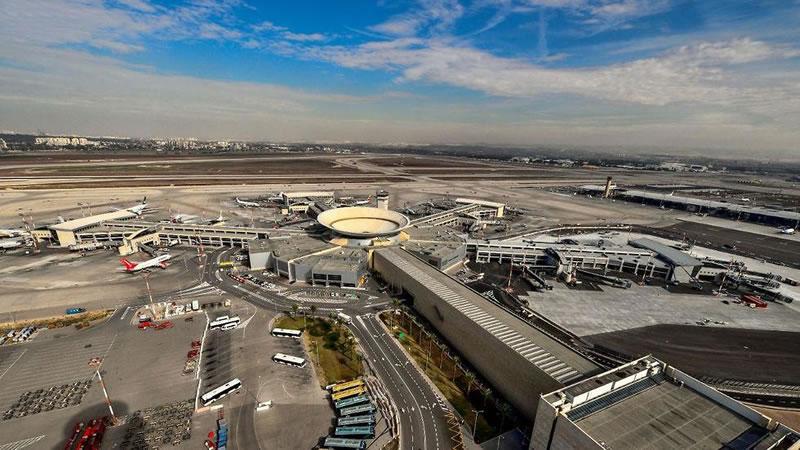 В аэропорту Бен Гурион вновь работает главная полоса