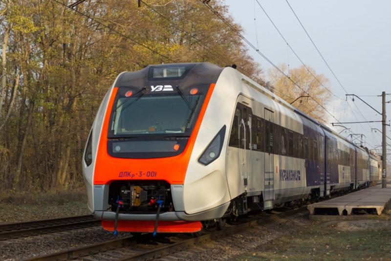 Начались испытания украинского дизель-поезда для Kyiv Boryspil Express