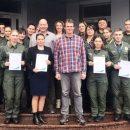 В аэропорту Борисполь эксперты из Германии провели тренинг по идентификации личности