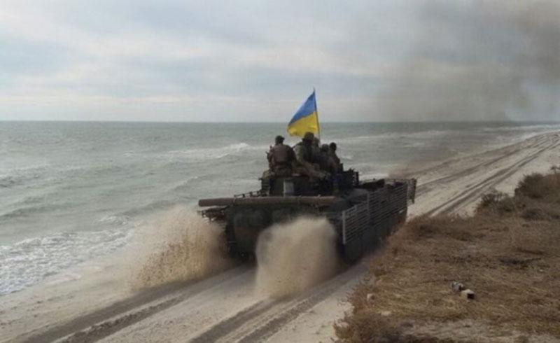 Как друзья-десантники российский беспилотник поймали