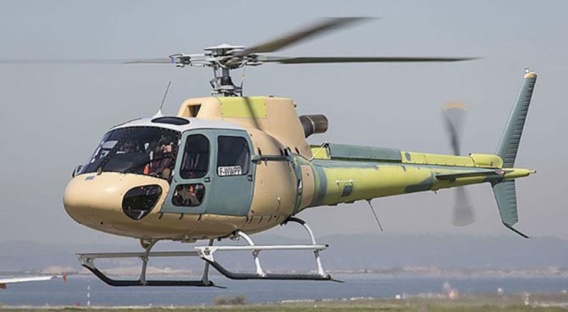 Украинские пограничники начали осваивать легкие патрульные вертолеты Н125