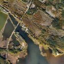 Госгидрография провела аэрофотосъемку береговой линии Киевского водохранилища