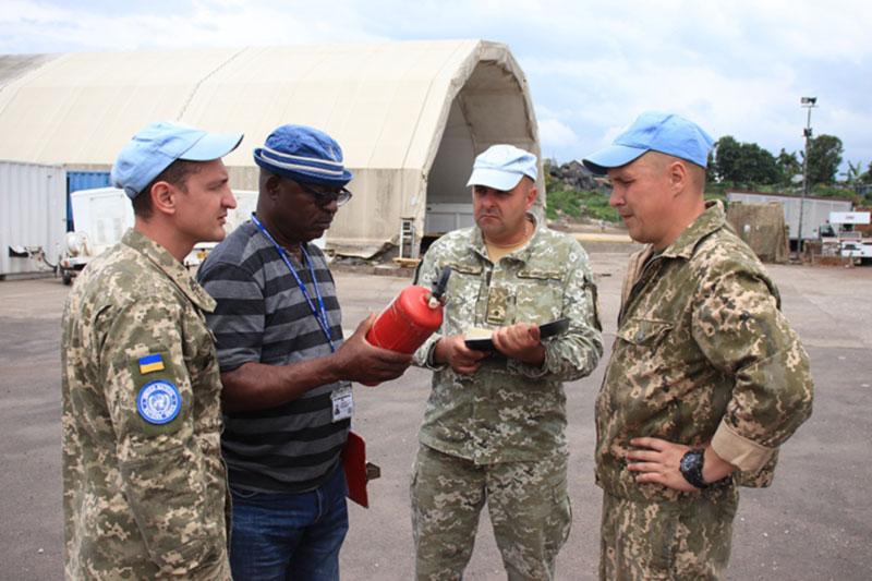 Украинские миротворцы прошли проверку Миссии ООН