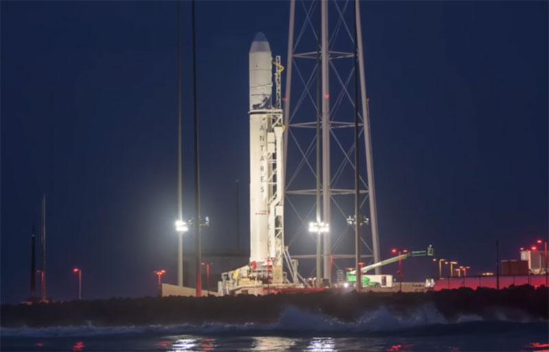 Очередной успешный пуск ракеты-носителя  «Антарес»
