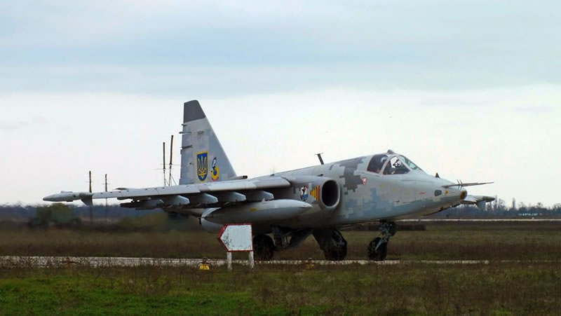 В Николаевской авиабригаде облетали модернизированные Су-25