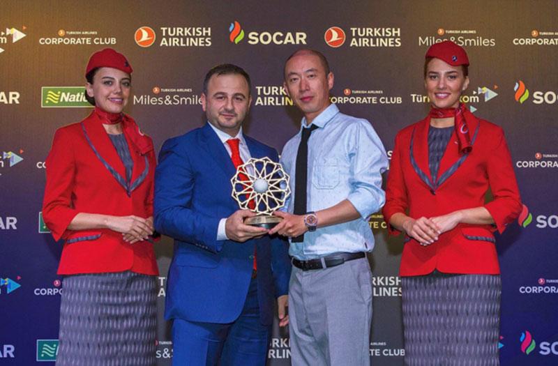 Turkish Airlines провела международный турнир по гольфу