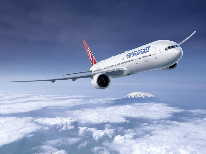 Turkish Airlines достигла коэффициента занятости пассажирских кресел 83,3%