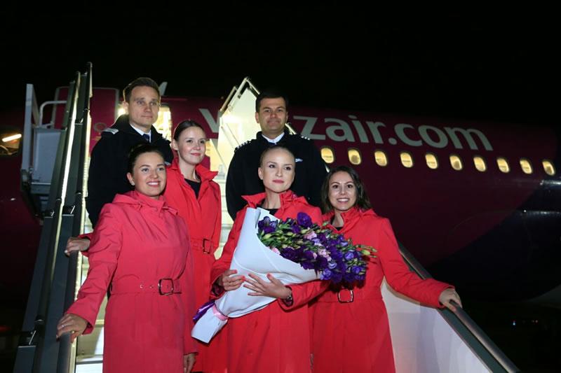 Wizz Air отмечает запуск первых рейсов из Одессы