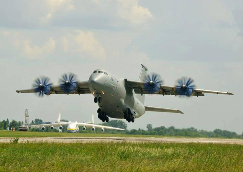 25 лет со дня первого полета Ан-70