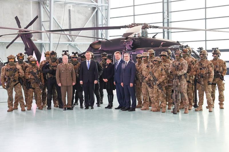 Спецназ получил 4 вертолета Black Hawk